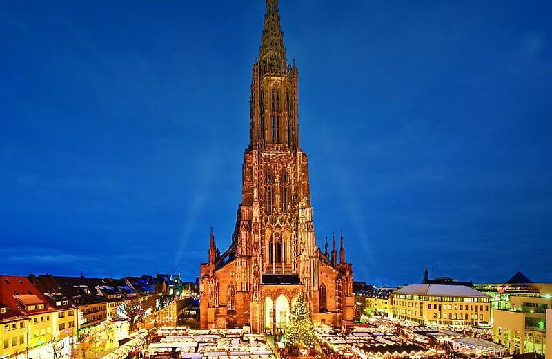 Ulm Weihnachtsmarkt.Ulmer Weihnachtsmarkt Reiseprogramm